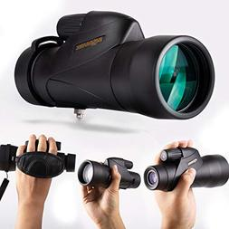 SOLOMARK QHMN002A 12X50 High Definition Monocular Handheld W