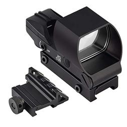 Feyachi Reflex Sight - Red & Green Dot Gun Sight Scope  with