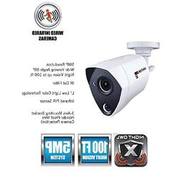 Night Owl Security 1 Pack Extreme HD 5MP Dual Sensor Wired I