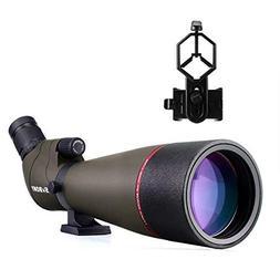 SVBONY SV13 20-60x65/20-60x80mm Spotting Scope Telescope IPX