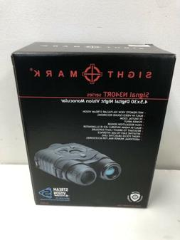 Sightmark Signal Digital Night Vision Monocular 340RT- Black