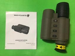 STEALTHCAM - STC-NVMSD - DIGITAL NIGHT VISION MONOCULAR CAME