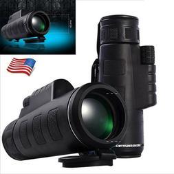 Super High Power 40X60 Portable HD OPTICS BAK4 Night Vision