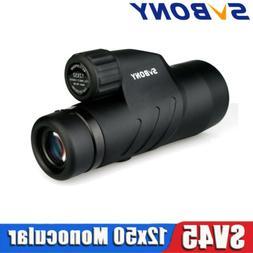 SVBONY SV45 10-30x50 Zoom Monoculars BaK4 Prism Full Multi-c