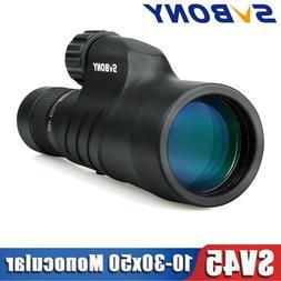 SVBONY SV45 12x50 Monocular FMC Prism BaK4 Waterproof Spotti