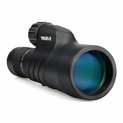 SVBONY SV45 10-30x50 Zoom Monocular with BaK4 Prism Fully Mu