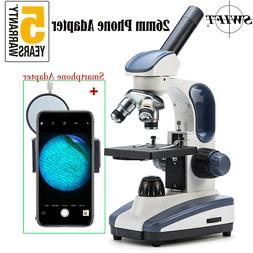 SWIFT SW200 Student Lab Compound Microscope with Smartphone