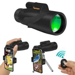 Monocular Telescope for Iphone Waterproof High Power Spottin