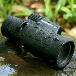 Wingspan Optics Tracker 8X42 Compact Wide View Monocular wit