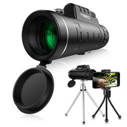 Cosbity Universal Phone Monocular Telescope Zoom Scope and T