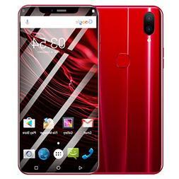 Unlocked Smartphone,Eight Cores 6.2'' Dual HD Camera 16GB SI