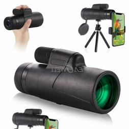 US 10X42 Zoom Optical HD Camera Lens Monocular Telescope +Tr