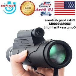 US 12X50 3in1 Monocular Telescope Flashlight+Infrared Laser+
