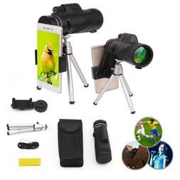 US 40X60 Magnification Monocular HD Telescope Camera Lens +