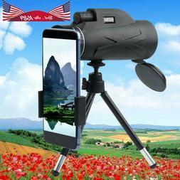US  80x100 Zoom Portable HD Prism Monocular Cameras Telescop