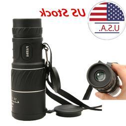 US HD 40x60 Handheld  Zoom Monocular Telescope Low Light Nig