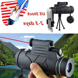US NEW 12X50 Monocular Telescope 1800M/9900M with Red Laser+