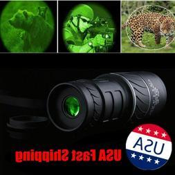 USA 40x60 HD Monocular Day&Night Vision Optical Telescope Hu