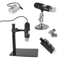 Quality Optics USA Lighted Microscope Collection Pocket Digi