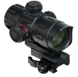UTG 4.2 ITA Red/Green Dot Sight with 2 QD Mounts and Flip-op