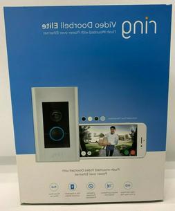 Ring Video Doorbell Elite 1080HD Power Over Ethernet, 8VR1E7