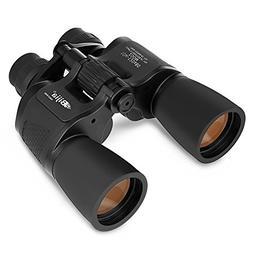 BIJIA Zoom Binoculars for Adult and Kids, 10X-120X80 HD Visi