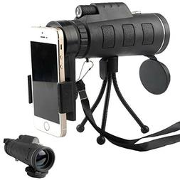 waterproof monoculars phone clip tripod cell phone
